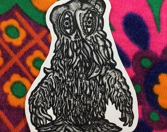 Hedorah Godzilla sticker