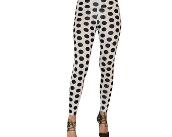 646c9822f7 Polka dot leggings | Etsy