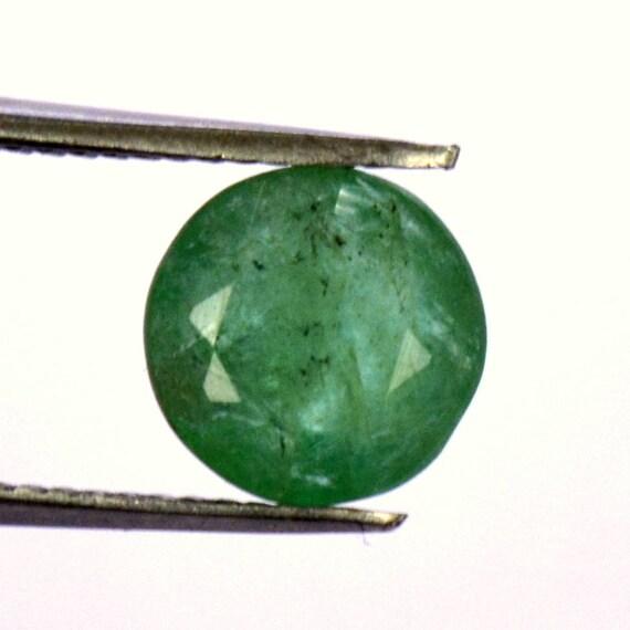 0,98 0,98 0,98 CTS certifié naturel émeraude ronds de pierres précieuses en vrac brésilien 6,50 mm non traité 0fcabf