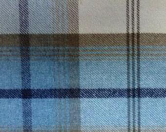 1 metre Fryetts Balmoral Sky fabric