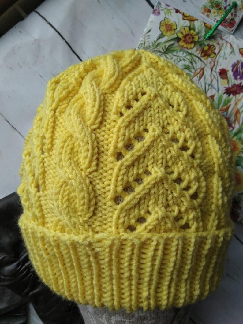 c7bccee81d96c5 Women winter hat Winter hat women Yellow knit hat red women | Etsy