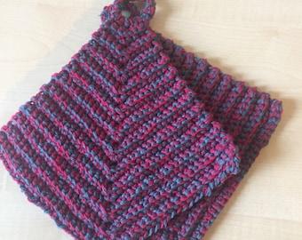 Crocheted Pot Flaps
