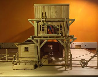 Wild West Model House/Spielhaus for Wild West figures up to 8 cm
