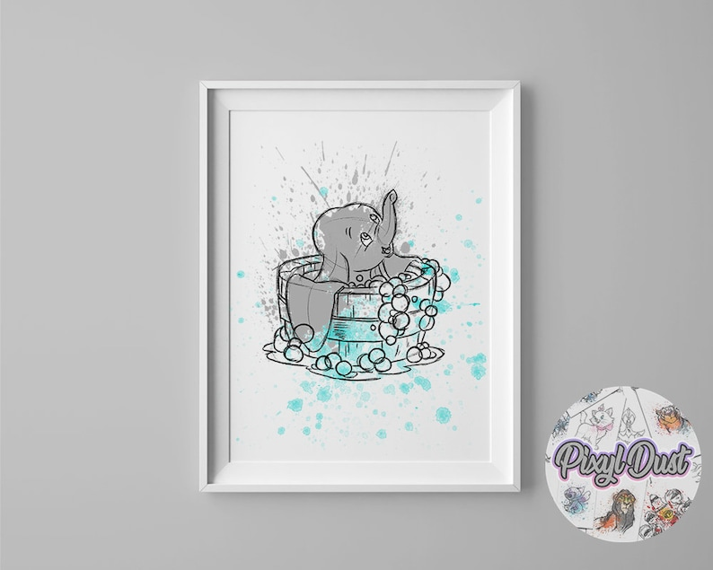 A3 A4 DUMBO 3 SIZES TO CHOOSE A5 DISNEY CLASSIC CANVAS PICTURE