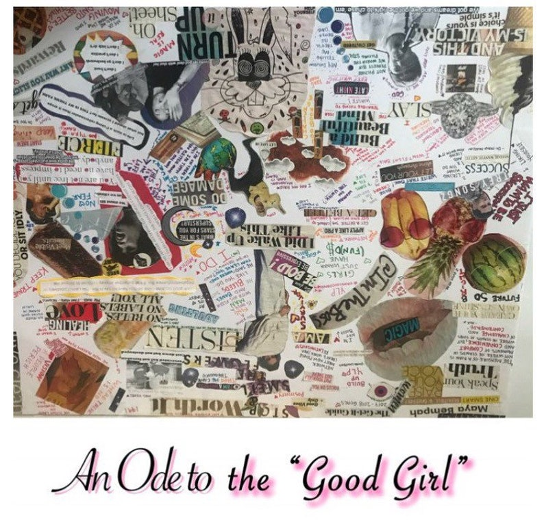An Ode to the Good Girl Poetry Book by Maya image 0