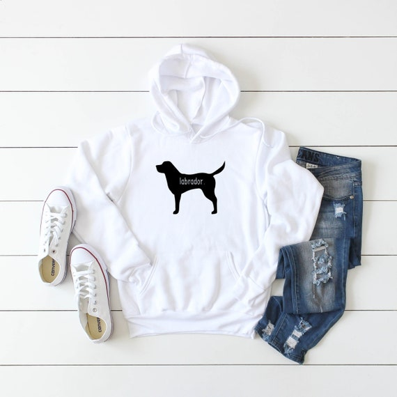 Labrador Personalised Hoodie Dogs Funny Gift Dog Puppy Birthday Pet Owner Cool