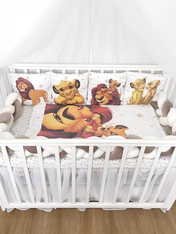 Lion King Crib Bedding Set For Boy, Baby Crib Bedding Set Lion King