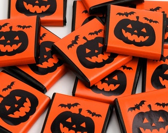 Chocolate bars Halloween pumpkin (20 pieces)