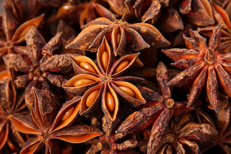 Star Anise - magickal herb, good luck, psychic powers