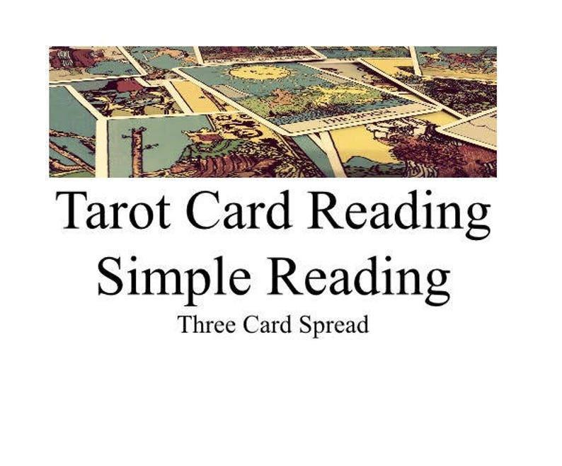Tarot Card Reading: Simple Three Card Spread
