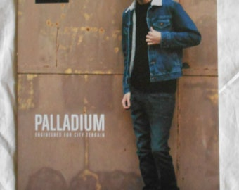 Palladium, Gilles Defaix - poster advertising Display 30 x 21 cm (12 x 8 inches) - men fashion