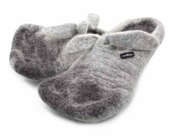 Lowul Erxon Felted Wool Slippers