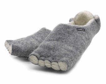 Lowul Actrix Felted Wool Slippers
