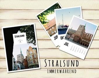 Stralsund - perpetual calendar (german)