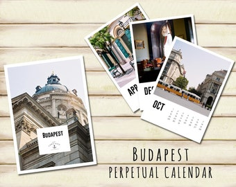 Budapest - perpetual Calendar (English edition)