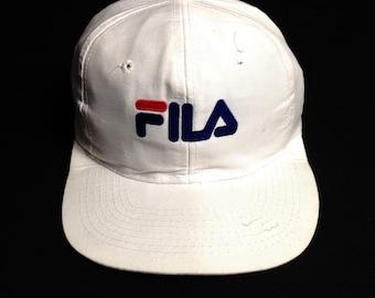 993b7d361b0 Fila Big Logo Adjustable Trucker Caps Free size