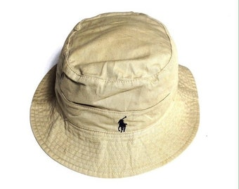 0f631d6e3ec71 Vintage Polo by Ralph Lauren Small Pony Bucket Hats Nice Design