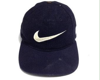 a604d688b2fe65 Vintage Nike Team Sports Big Logo Swoosh Caps Free size