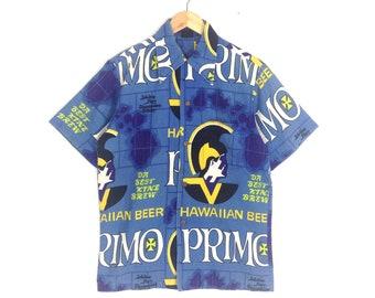 c8c53c4c9 Rare!! Vintage Hawaiian Holiday Hawaii Primo Shirts Aloha Style Unisex  Medium size