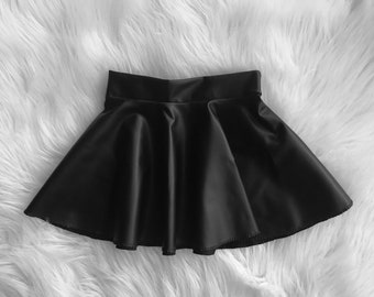 c936a92fa2 Pleather skirt | Etsy