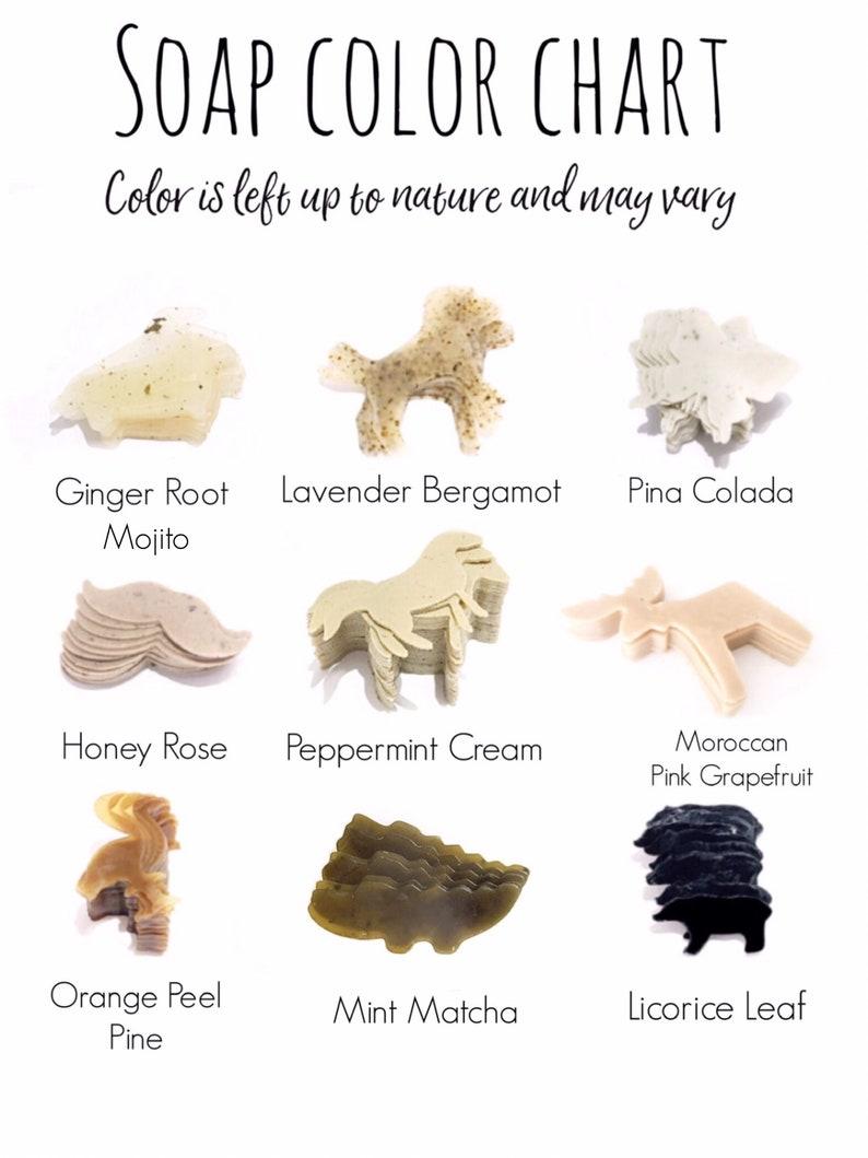Cat shaped SOAPS mini kitten cat travel bath gift for her  animal lover organic set