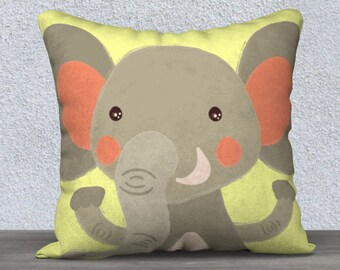 "Kids decorative cushion cover ""is"" pillowcase pillow gift, baby-nursery children decor animal"