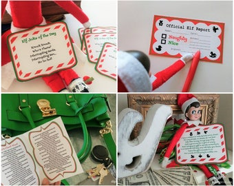 Bundle & Save! Elf Printables