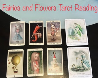 Fairies and Flowers Tarot Reading - Five Dollar Divination
