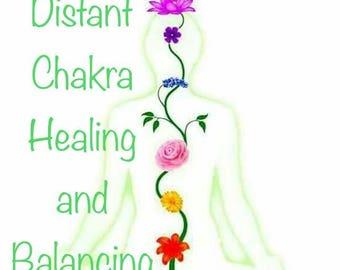 Distant Chakra Healing and Balancing - Five Dollar Divination