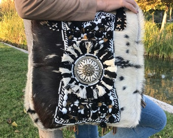Handmade Pony fur Handbag