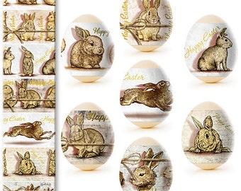 Easter Egg Wraps for 7 Hen Eggs, Pysanka, Pysanky Egg Heat Shrink Sleeves, #44