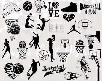 Basketball mom svg | Etsy