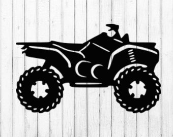 ATV Svg Four Wheeler 4
