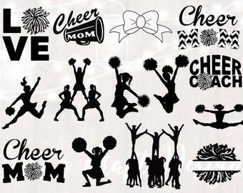 cheerleader clipart etsy rh etsy com cheer clipart free cheer clip art free images