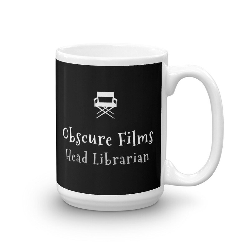 Obscure Films Head Librarian Mug for Movie Library Acquisition image 0