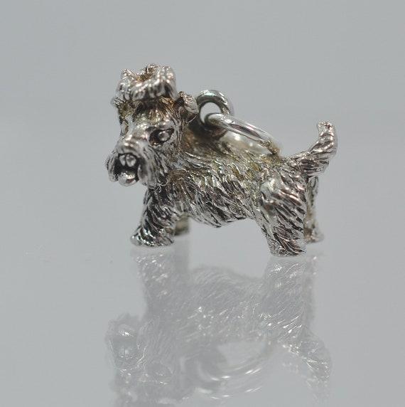 Kerry Blue Terrier Lapel Pin Brooch