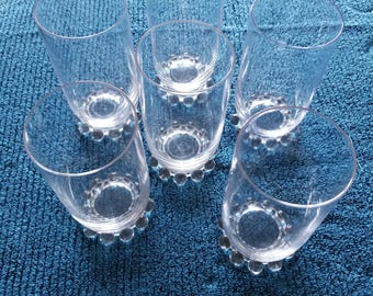 Candlewick Iced Tea Glass Set of 6