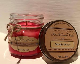 Georgia Peach Candle