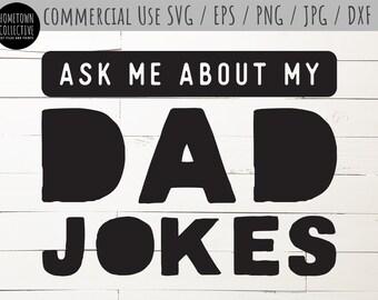 Dad Jokes Svg Etsy