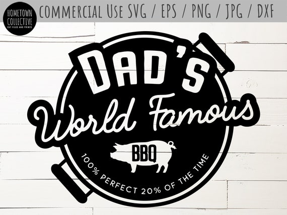 Dad S Bbq Svg Dad Svg Father S Day Svg Dad Jokes Etsy