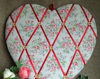 MEMO Board/NOTICE Board 'Shabby Chic' Heart