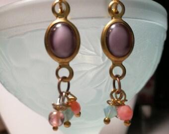 Earrings vintage beads
