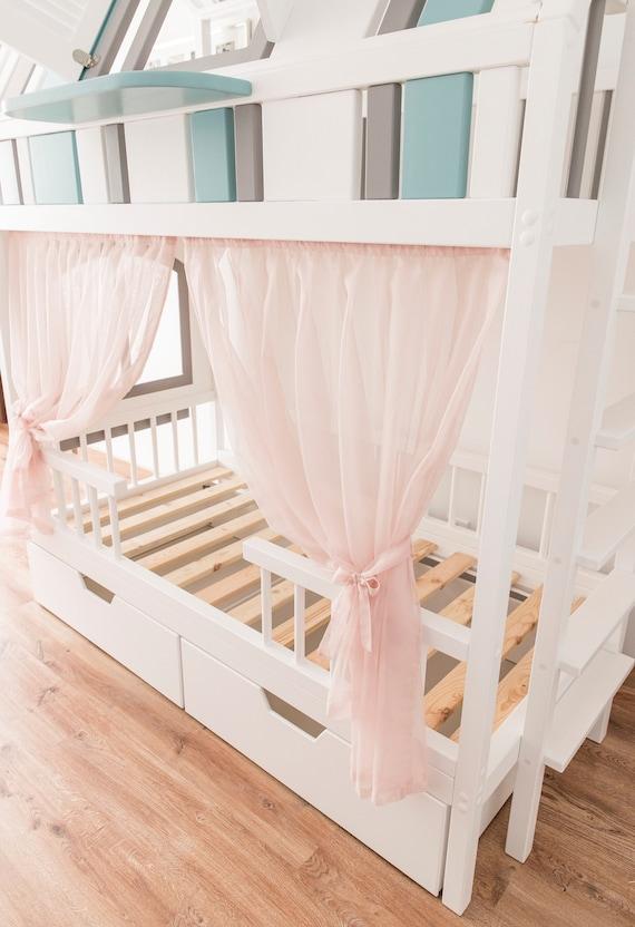 Lieblich Etagenbett Für Kinder Hochbett Spielhaus Etagenbett | Etsy