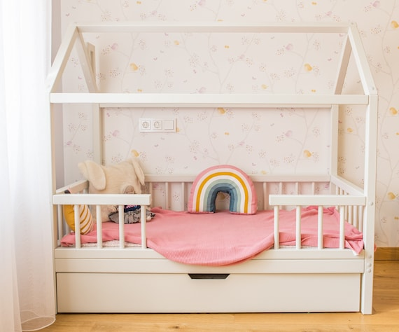 Bed Frame Kids Beds Toddler Bed Childrens Beds Twin Bed Etsy