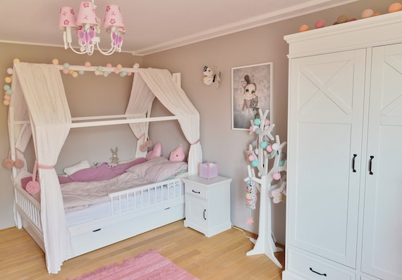 Girls Twin Bed Frame