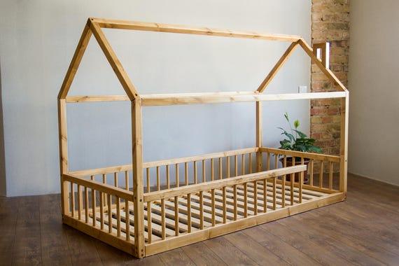 Lit Montessori Lit Bebe Enfants Lits Pour Enfants Lits Etsy