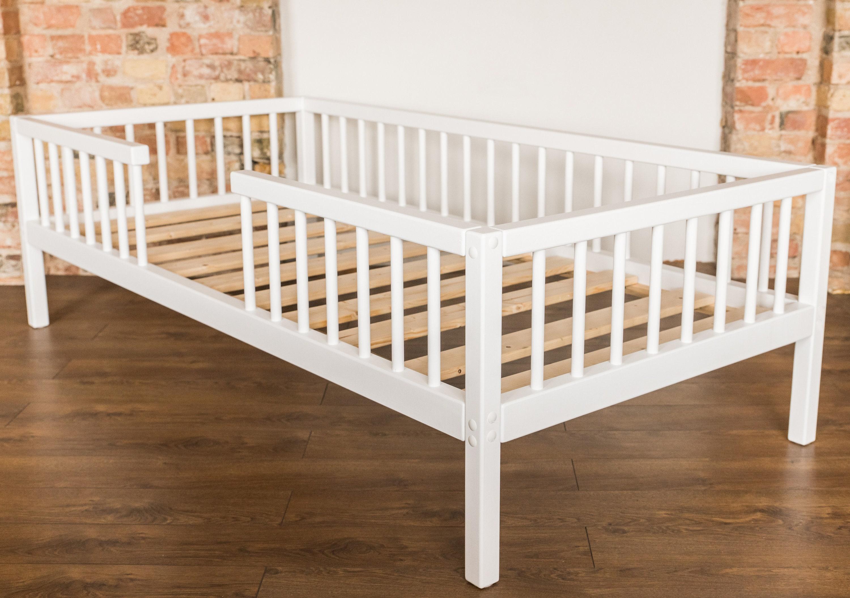 Montessori-Bett Kinderbett Kindermöbel Holzbett | Etsy