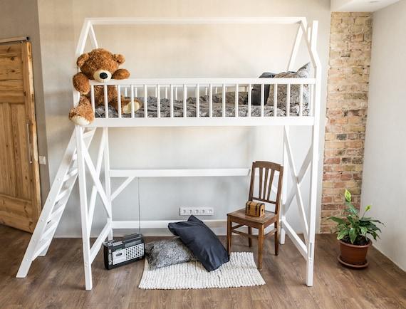 Loft Bett Etagenbett Inn Kindermöbel Spielhaus Baum | Etsy