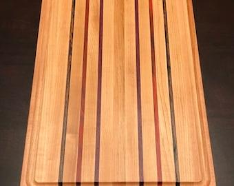 Hardwood Cutting Board Maple Striped