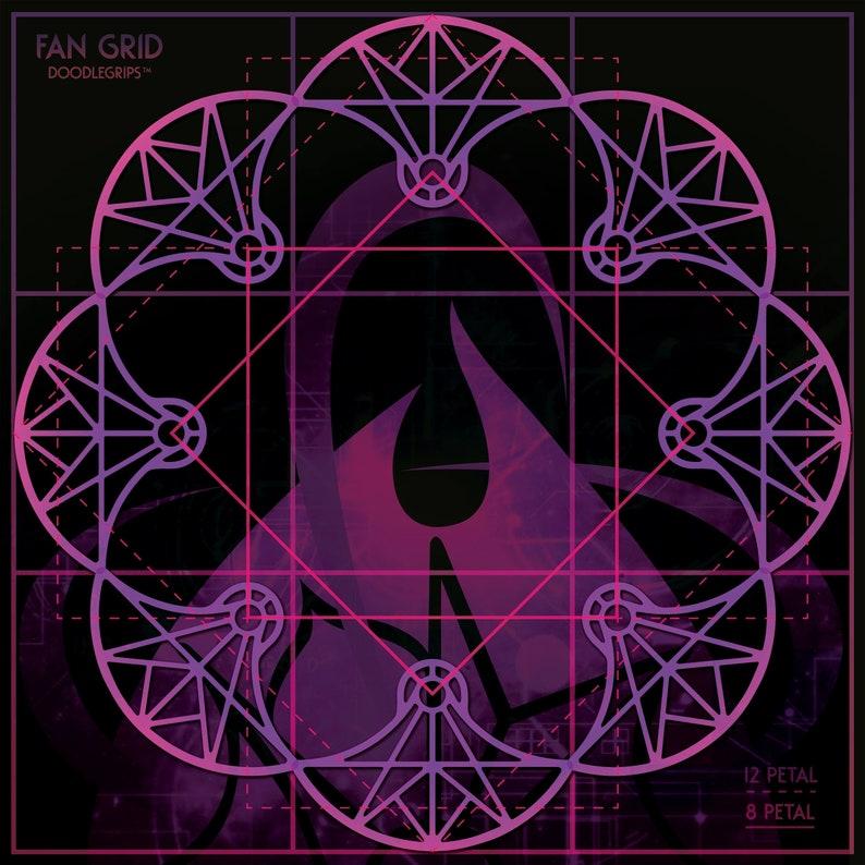 Fan Grid Tapestry image 0